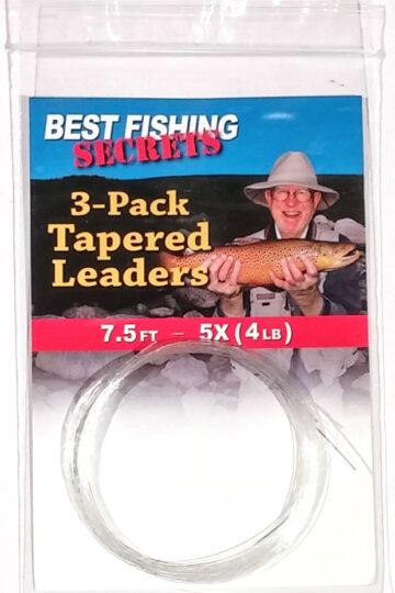 3-Pack - 7.5'', 5X (4lb.)