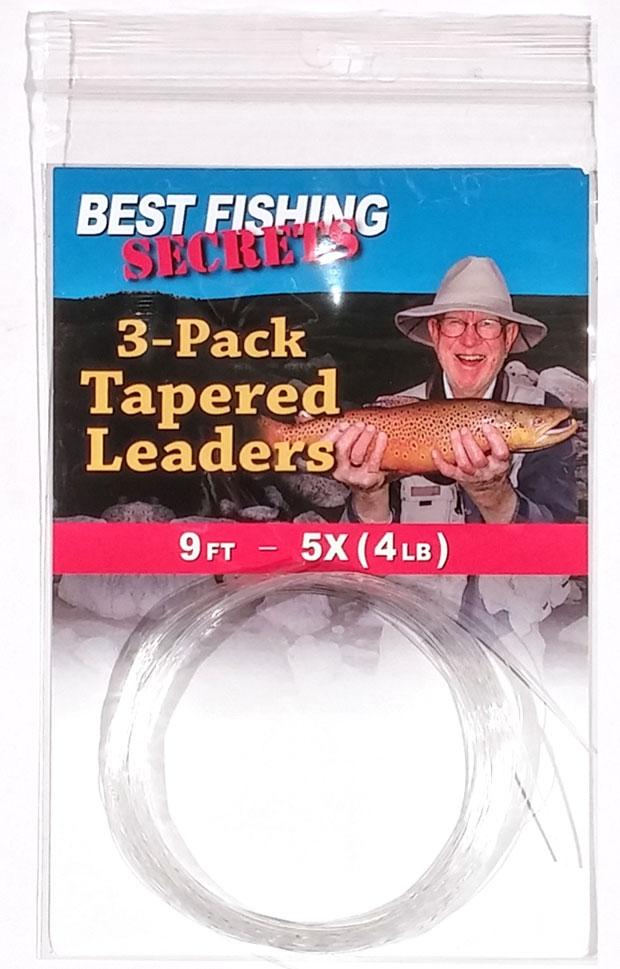 3-Pack - 9', 5X (4lb.)