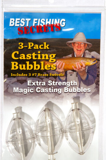 3-Pack - Magic Casting Bubbles